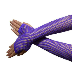 Gloves Drag Trixie Purple / 1 Gloves