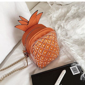 Handbag Drag Ananas (4 Colors) Orange Handbag