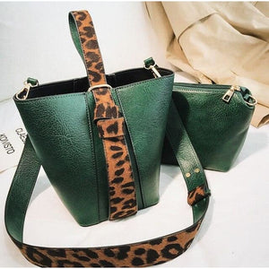 Handbag Drag Marlene (5 Colors) Green Handbag