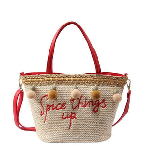 Handbag Drag Spicy (Red or Black) Handbag
