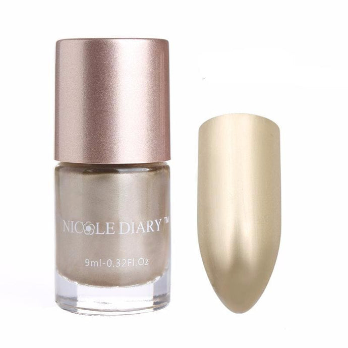 LIMITED EDITION 9ml Golden Nail Polish Nail Polish