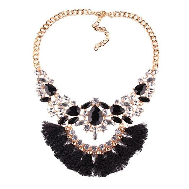 Necklace Drag Genie (3 Colors) Black Necklace