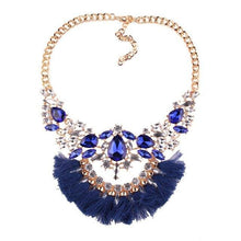 Load image into Gallery viewer, Necklace Drag Genie (3 Colors) Blue Necklace
