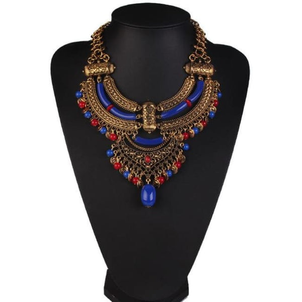 Necklace Drag Medan (6 Variants) Blue Necklace