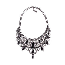 Load image into Gallery viewer, Necklace Drag Vivien (Multiple Colors) Black / 51cm Necklace