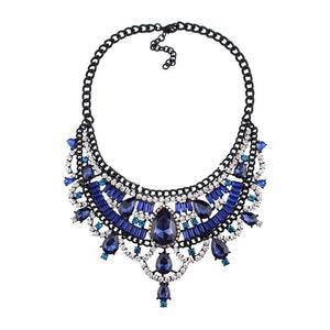 Necklace Drag Vivien (Multiple Colors) Blue / 51cm Necklace