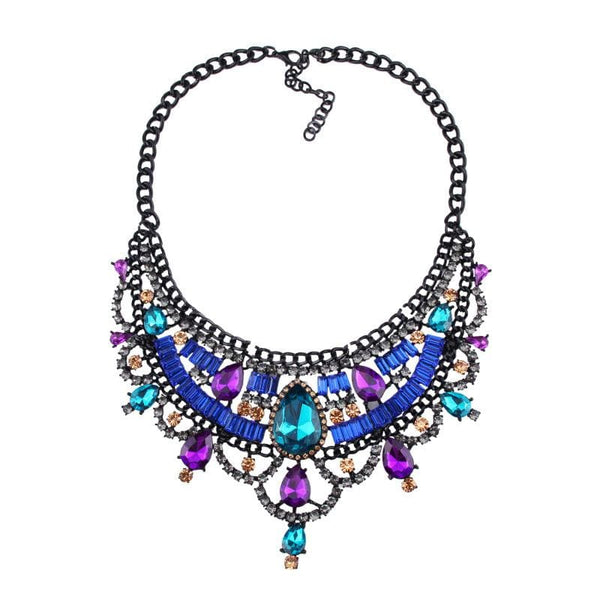 Necklace Drag Vivien (Multiple Colors) Blue Multicolor / 51cm Necklace