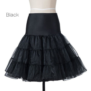 Petticoat Drag Marty (15 Colors) Black / S Petticoat