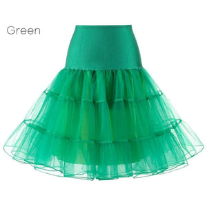 Petticoat Drag Marty (15 Colors) Green / S Petticoat