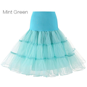 Petticoat Drag Marty (15 Colors) Mint Green / S Petticoat