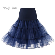 Load image into Gallery viewer, Petticoat Drag Marty (15 Colors) Navy Blue / S Petticoat