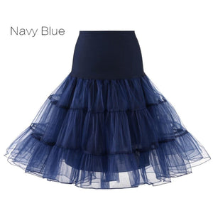Petticoat Drag Marty (15 Colors) Navy Blue / S Petticoat