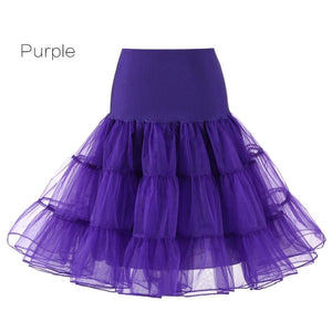Petticoat Drag Marty (15 Colors) Purple / S Petticoat