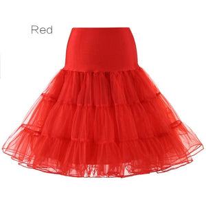 Petticoat Drag Marty (15 Colors) Red / S Petticoat
