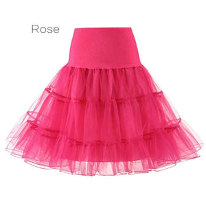 Petticoat Drag Marty (15 Colors) Rose / S Petticoat