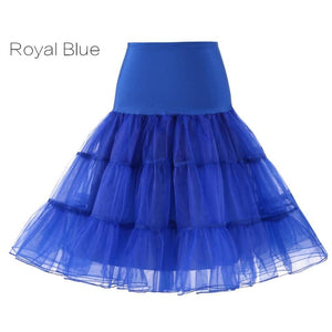 Petticoat Drag Marty (15 Colors) Royal Blue / S Petticoat