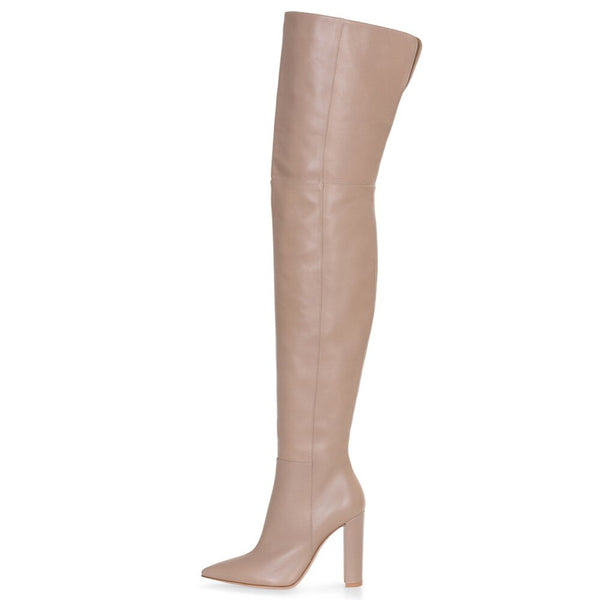 Boots Drag Galia (Nude or Black)