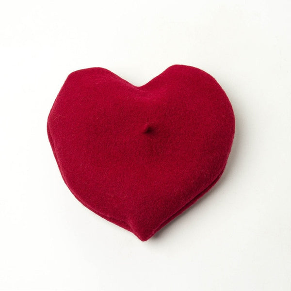 Beret Drag Heart (5 Colors)