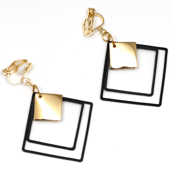 Clip Earrings Drag Pendulum