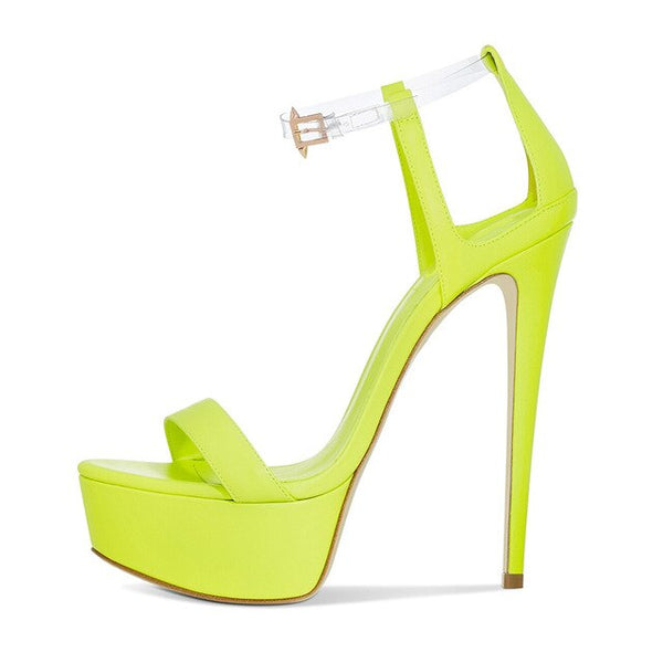 Sandals Drag Ivonne (Neon or Black)