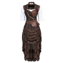 Corset Dress Drag Courtesan (5 Variants)