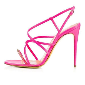 Sandals Drag Phi (3 Colors) Pink / 4