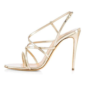 Sandals Drag Phi (3 Colors) Champagne / 4