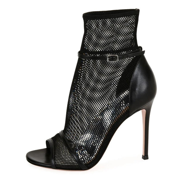 Boots Drag Cobra (Black or Nude)
