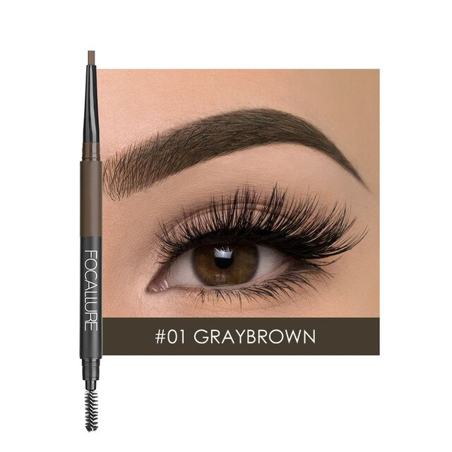 Eyebrow Pencil 3-in-1 (4 Colors)