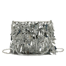 Load image into Gallery viewer, Purse Drag Astra (Silver or Black) Purse