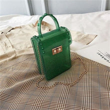 Load image into Gallery viewer, Purse Drag Jelly (6 Colors) Green Purse