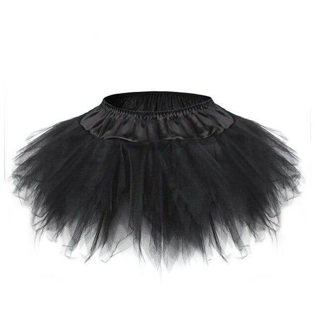 Skirt Drag Tutu (Multiple Colors) Black / S Skirt