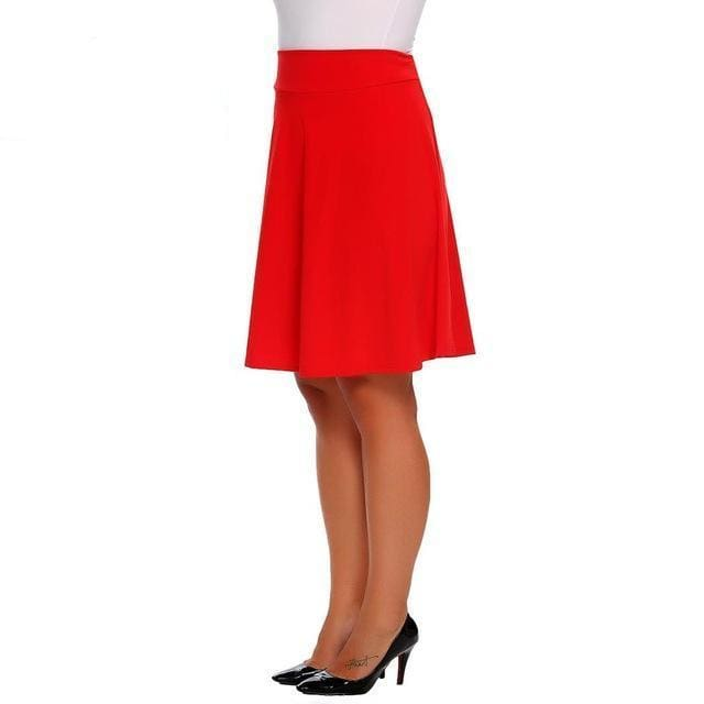 Skirt Queen Mambo (2 Colors) Red / XL Skirt