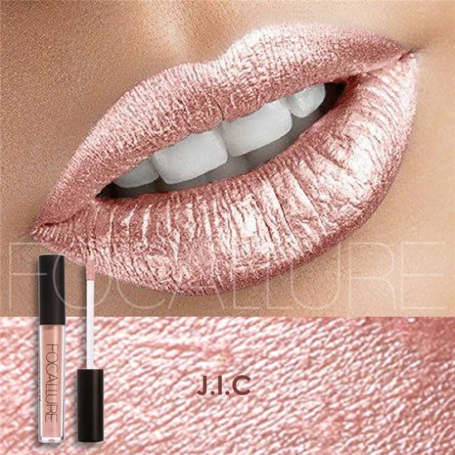 Soft Metallic Lip Gloss (10 Colors) 16 Lipstick
