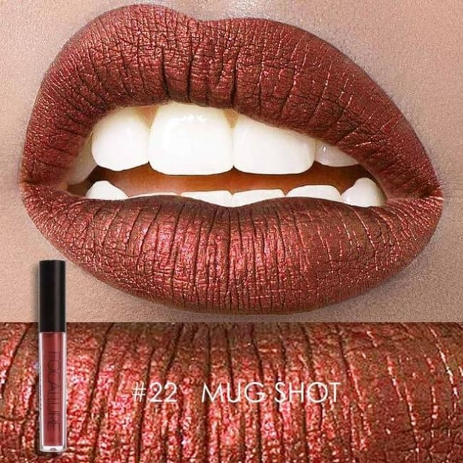Soft Metallic Lip Gloss (10 Colors) 22 Lipstick