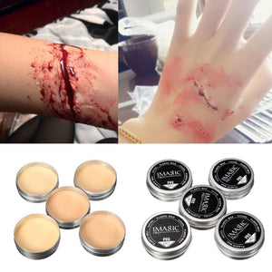 Special Effect Makeup Modeling Wax (5 Colors) Modeling Wax