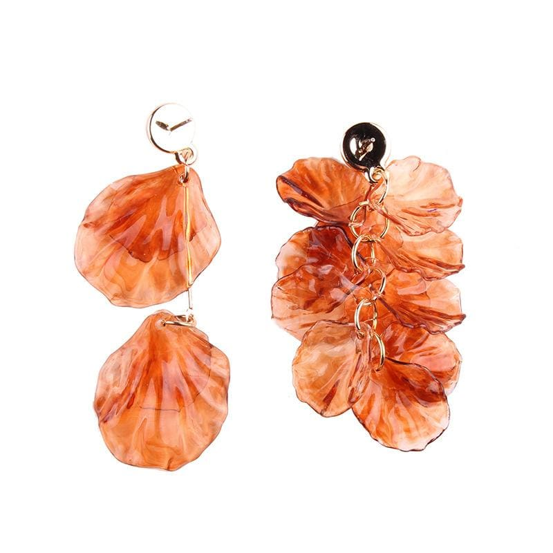 Stud Earrings Drag Amber Earrings