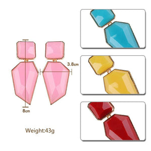 Stud Earrings Drag Guanzu (8 Colors) Earrings