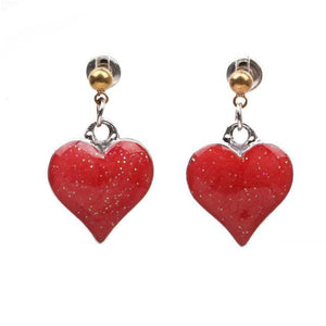 Stud Earrings Drag Heartache (6 Colors) Big Red Earrings