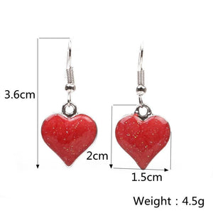 Stud Earrings Drag Heartache (6 Colors) Earrings