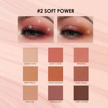 Load image into Gallery viewer, Summer Sun Professional Eyeshadow Palette (3 variants) 2 Eyeshadow Palette