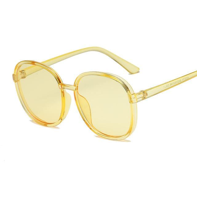 Sunglasses Drag Linsey (11 variants) Yellow Sunglasses
