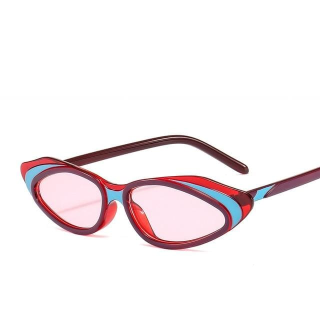Sunglasses Drag Milano (6 variants) Pink (Red) Sunglasses