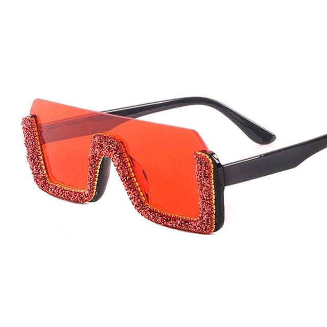 Sunglasses Drag Poison (6 variants) Red Sunglasses