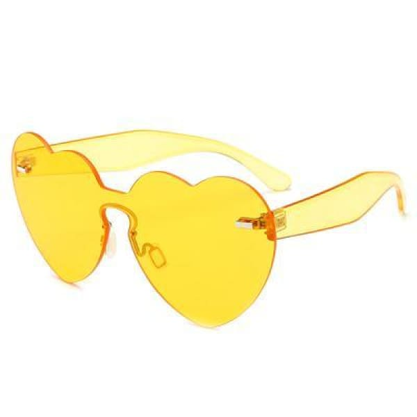 Sunglasses Drag Trixie (9 colors) Yellow Sunglasses