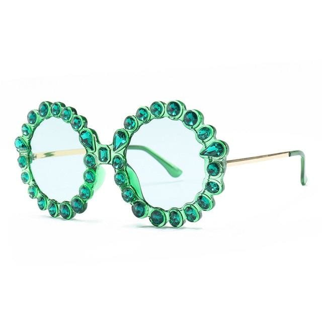Sunglasses Drag Violet (5 colors) Green Sunglasses