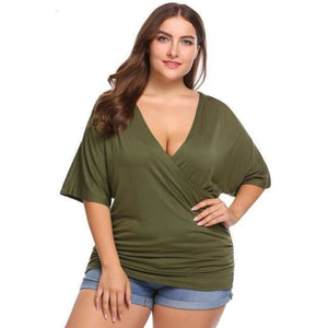 T-Shirt Queen Powell (5 Colors) Army Green / XL T-Shirt