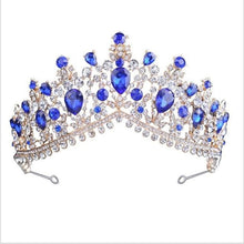 Load image into Gallery viewer, Tiara Queen Megara (6 Colors) Blue Tiara