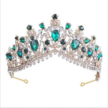 Load image into Gallery viewer, Tiara Queen Megara (6 Colors) Emmerald Tiara