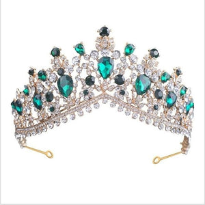 Tiara Queen Megara (6 Colors) Emmerald Tiara